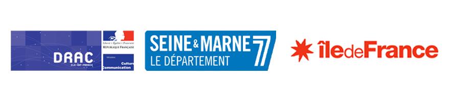 logo partenaire Seine et Marne, Drac, Région Ile de France