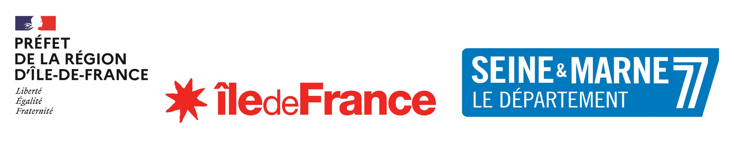 logo DRAC + Region + Dep77
